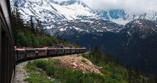 ركوب القطار في مقاطعة يوكون - اجمل الصور من كندا